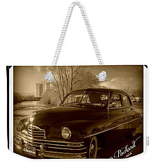 Packard Classic At Truckee River Weekender Tote Bag by Bobbee Rickard