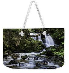 Packer Falls And Creek Weekender Tote Bag