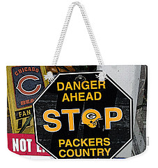 Packers Country Weekender Tote Bag