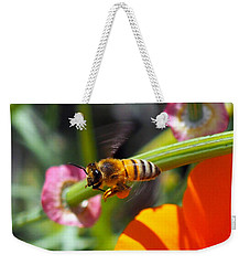 Packin Poppy Pollen Weekender Tote Bag