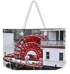 Paddle Wheel Weekender Tote Bag
