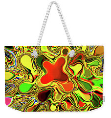 Paint Ball Color Explosion Weekender Tote Bag