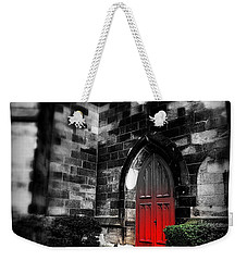 Paint It Black Weekender Tote Bag