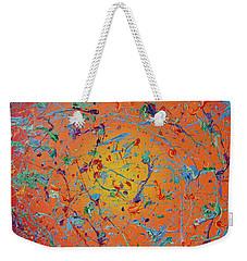 Paint Number Thirty Seven Weekender Tote Bag