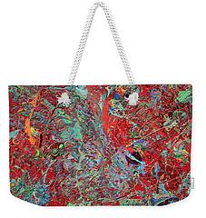 Paint Number Twenty Five Weekender Tote Bag