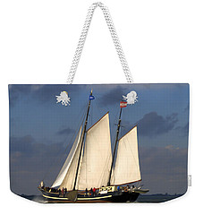 Paint Sail Weekender Tote Bag