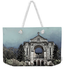 Painted Basilica 2 Weekender Tote Bag by Teresa Zieba