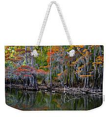 Painted Bayou Weekender Tote Bag