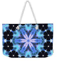 Painted Cymatics 108.00hz Weekender Tote Bag
