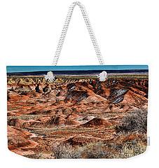 Painted Desert In Winter Weekender Tote Bag