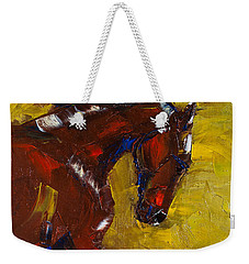 Painted Determination Weekender Tote Bag