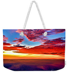 Painted Heavens Weekender Tote Bag by Adam Olsen