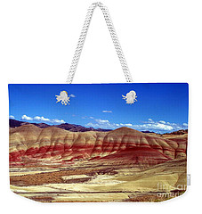 Painted Hills Weekender Tote Bag by Chalet Roome-Rigdon