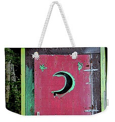 Painted Outhouse Weekender Tote Bag