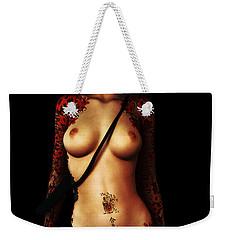 Painted Risks Weekender Tote Bag