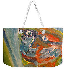 Painting Myself Weekender Tote Bag