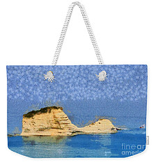 Islet In Peroulades Area Weekender Tote Bag