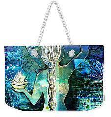 Painting The Moon Weekender Tote Bag