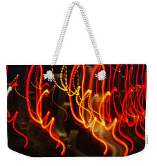 Painting With Light 3 Weekender Tote Bag by Jennifer Muller