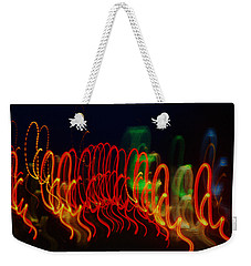 Painting With Light 5 Weekender Tote Bag by Jennifer Muller