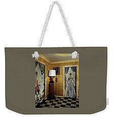 Paintings On The Walls Of Tony Duquette's House Weekender Tote Bag