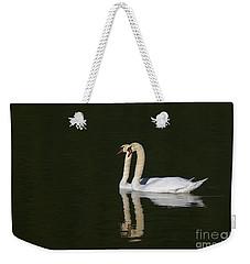 Pair Of Mute Swans Weekender Tote Bag
