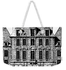 Place Royal At Paris Weekender Tote Bag by Suzanne Powers