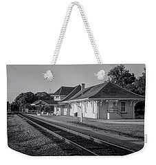 Palatka Train Station Weekender Tote Bag by Lynn Palmer