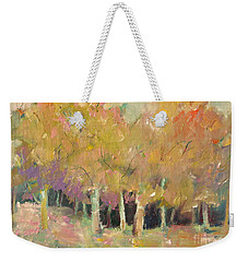 Pale Forest Weekender Tote Bag