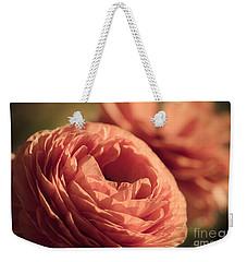 Pale Pink Petals Weekender Tote Bag