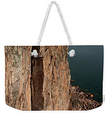 Weekender Tote Bag featuring the photograph Palisade Depths by James Peterson
