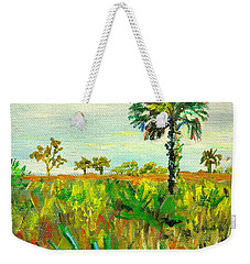 Palm And Palmetto Weekender Tote Bag