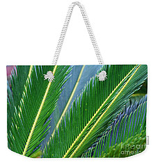 Palm Cycas Fronds Weekender Tote Bag