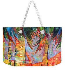 Palm Jungle Weekender Tote Bag by Elizabeth Fontaine-Barr