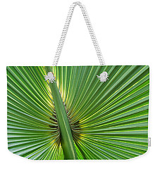 Weekender Tote Bag featuring the photograph Palm Love by Roselynne Broussard
