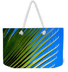 Palm Silhouette Weekender Tote Bag by Jennifer Muller