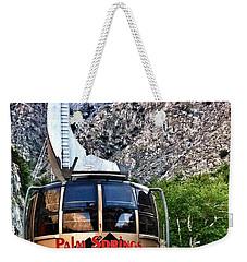 Palm Springs Tram 2 Weekender Tote Bag by Susan Garren