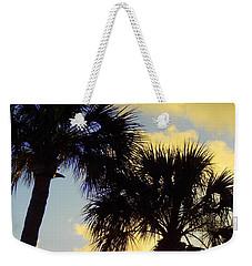 Palm Sunrise Weekender Tote Bag