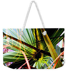 Palm Through The Fronds Weekender Tote Bag