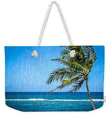 Palm Tree Swaying Weekender Tote Bag