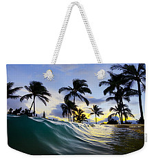 Palm Wave Weekender Tote Bag