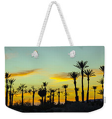 Palm Trees At Dawn Weekender Tote Bag
