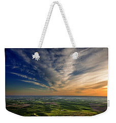 Palouse Sunset Weekender Tote Bag by Mary Jo Allen