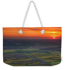 Palouse Sunset Weekender Tote Bag