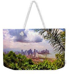 Panama City From Ancon Hill Weekender Tote Bag