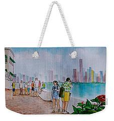 Panama City Panama Weekender Tote Bag by Frank Hunter