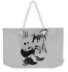 Panda And Bamboo Weekender Tote Bag