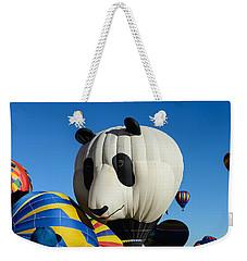 Panda Balloon Weekender Tote Bag