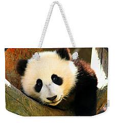 Panda Bear Baby Love Weekender Tote Bag