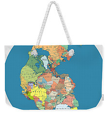 Pangaea Politica By Massimo Pietrobon Weekender Tote Bag